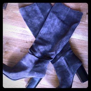 Sam Edelman Suede Victoria Boots